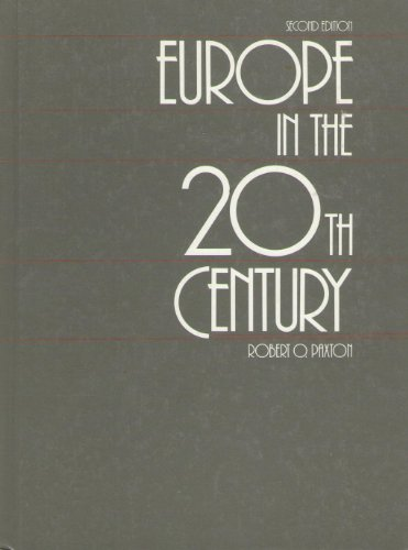 9780155247192: Paxton Europe in 20th Century 2e