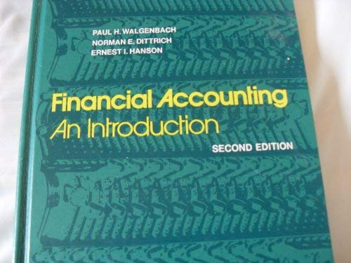 9780155273818: Financial Accounting: An Introduction