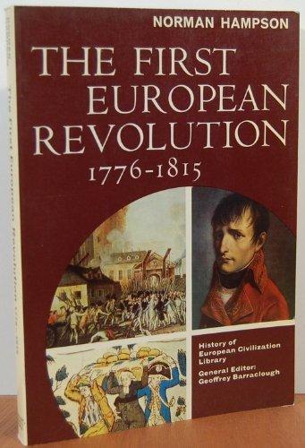 9780155273955: The First European Revolution, 1776-1815