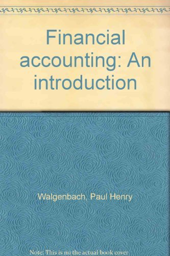 9780155274174: Financial accounting: An introduction