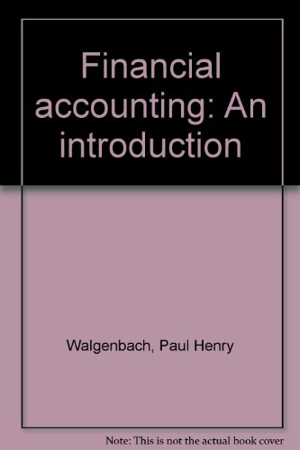 9780155274297: Financial accounting: An introduction