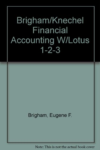 9780155274952: Financial Accounting With Lotus 1-2-3: Text and Models/Book and Diskette