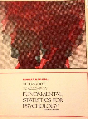9780155294141: Fundamental Statistics for Psychology: Study Gde