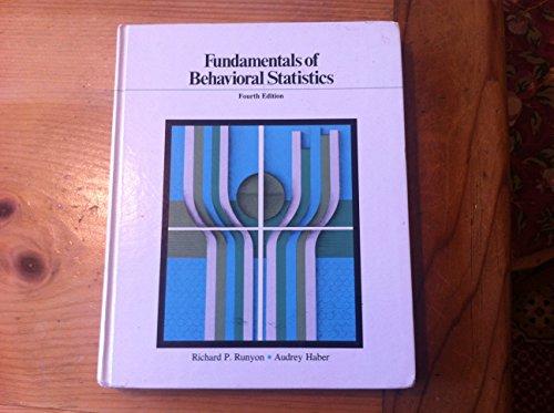 9780155294233: Mccall Fundamental Stats Behav Sci 4e