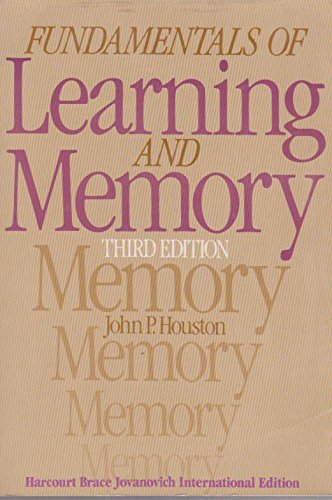 9780155294509: Fundamentals of Learning and Memory