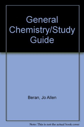 9780155295438: General Chemistry/Study Guide