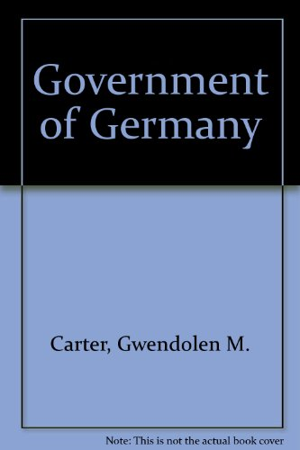 The Government of Germany: John H. Herz