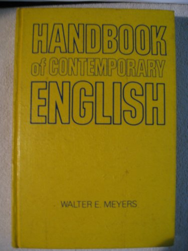 Handbook of Contemporary English: Walter E. Meyers