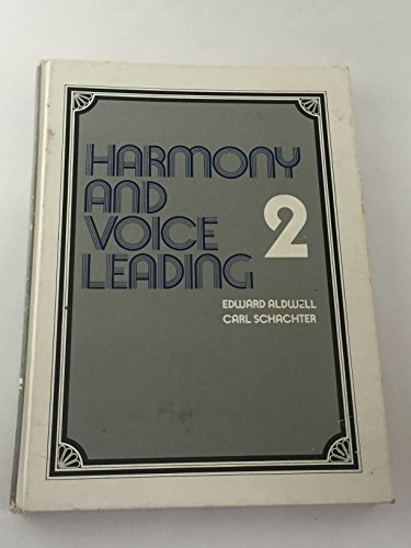 9780155315174: HARMONY AND VOICE LEADING 2 [Hardcover]