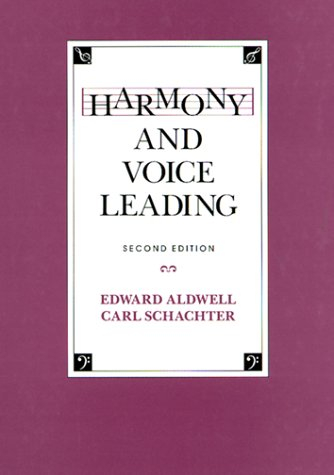 9780155315198: Harmony and Voice Leading (2nd Edition)