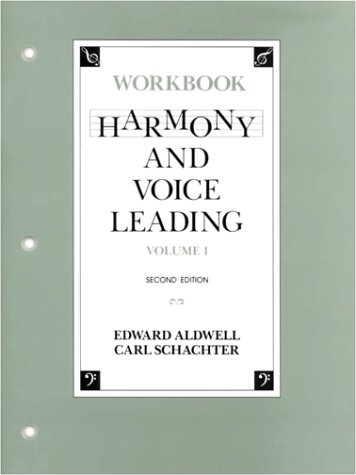 9780155315204: Harmony and Voice Leading: Workbook (Vol. 1)