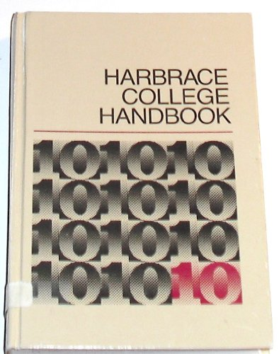 9780155318519: Harbrace College Handbook, 10th Edition