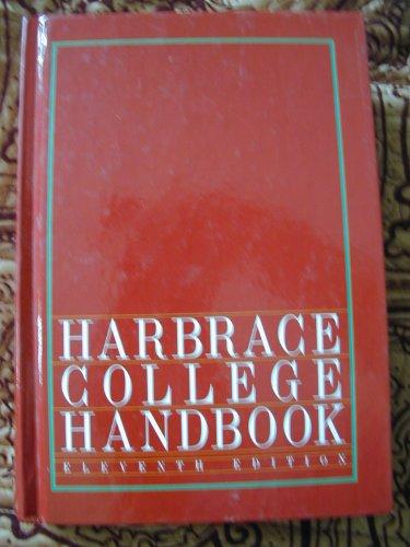 9780155318625: Harbrace College Handbook