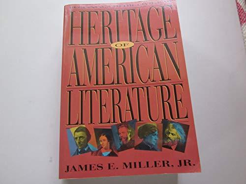 9780155356979: Heritage of American Literature: Beginnings to the Civil War