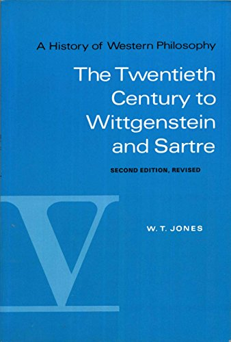 9780155383173: A History of Western Philosophy, Vol. 5: The Twentieth Century to Wittgenstein and Sartre