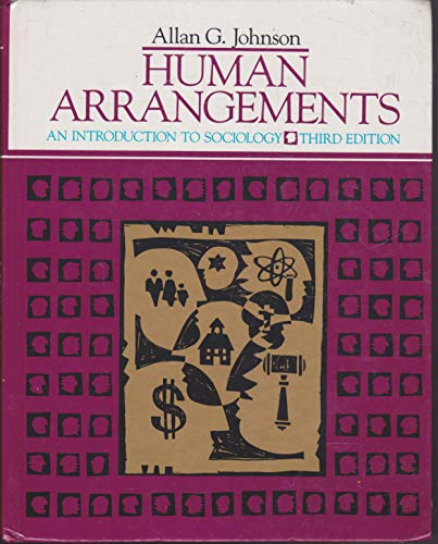 9780155397774: Human arrangements: An introduction to sociology
