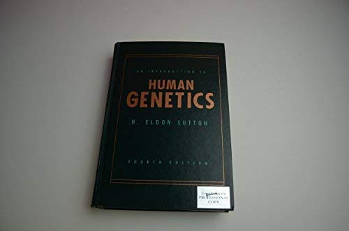 9780155400993: An Introduction to Human Genetics