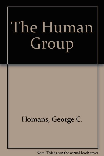 9780155403741: The Human Group
