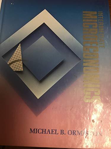 9780155413863: Intermediate Microeconomics