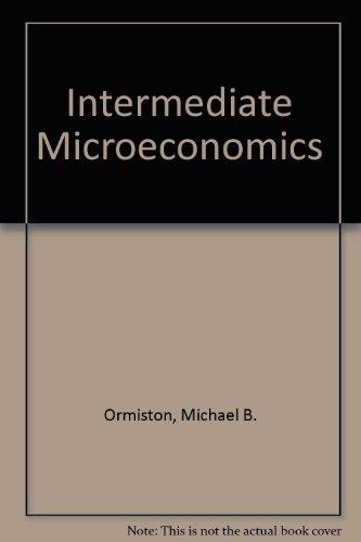 9780155413887: Intermediate Microeconomics