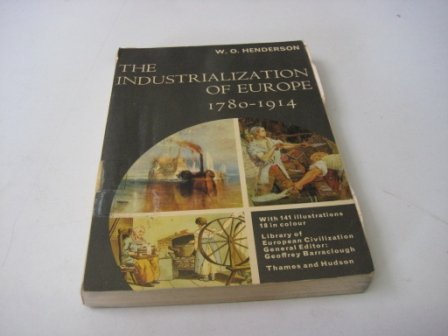 9780155414525: The Industrialization of Europe, 1780-1914