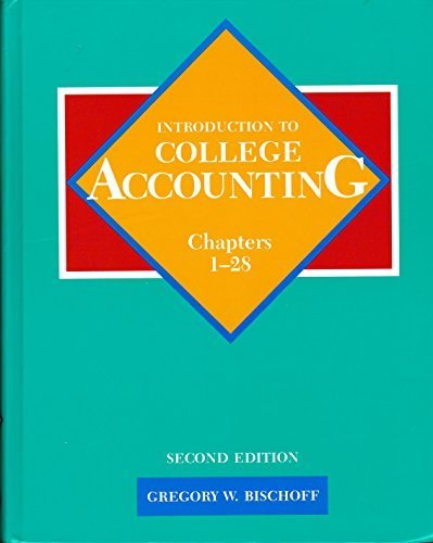 9780155417083: Introduction to College Accounting (Chapters 1-24)