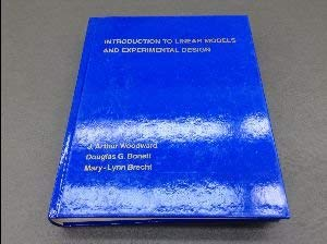9780155426764: Introduction to Linear Models and Experimental Design