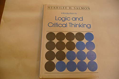 9780155430600: Introduction to Logic and Critical Thinking