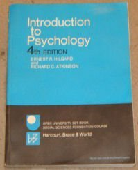 9780155436466: Introduction to Psychology