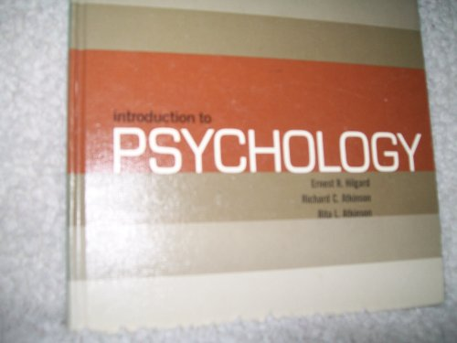 9780155436473: Introduction to Psychology