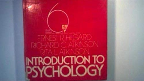 9780155436589: Introduction to Psychology: Study Guide