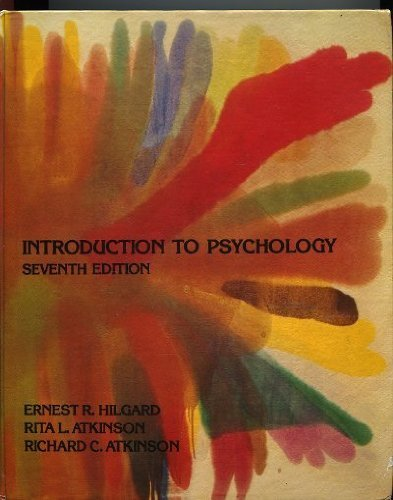 9780155436688: Introduction to Psychology