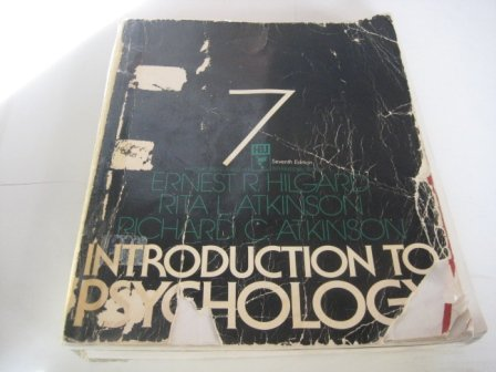 9780155436756: INTRODUCTION TO PSYCHOLOGY