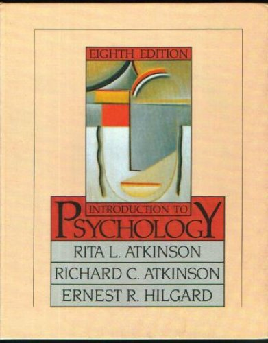 9780155436770: Introduction to Psychology