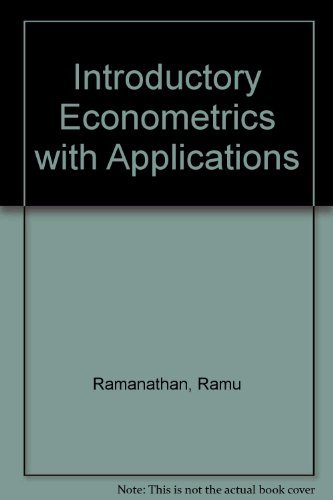 9780155464858: Introductory Econometrics with Applications