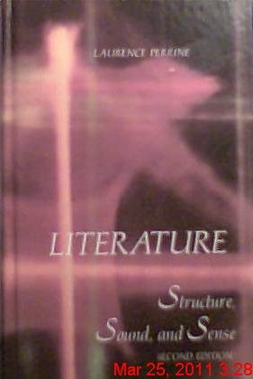 Literature : Structure, Sound & Sense