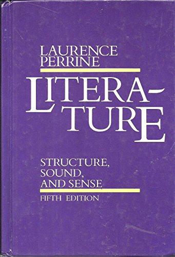 9780155511088: Literature:structure, Sound, Sense