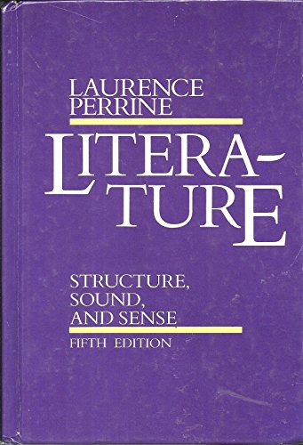 9780155511088: Perrine Literature 5e