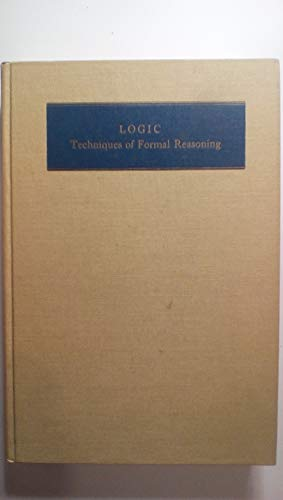 9780155511804: Logic: Techniques of Formal Reasoning