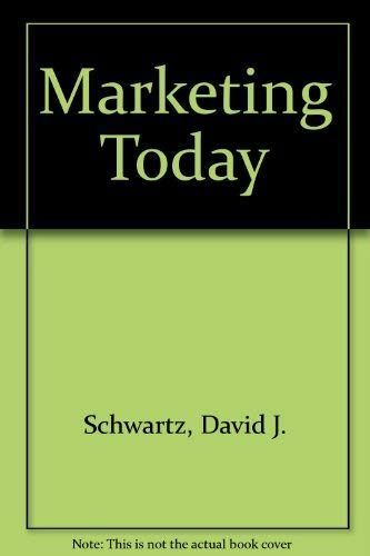 9780155550810: Marketing Today