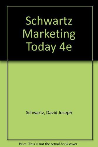 9780155550933: Marketing Today