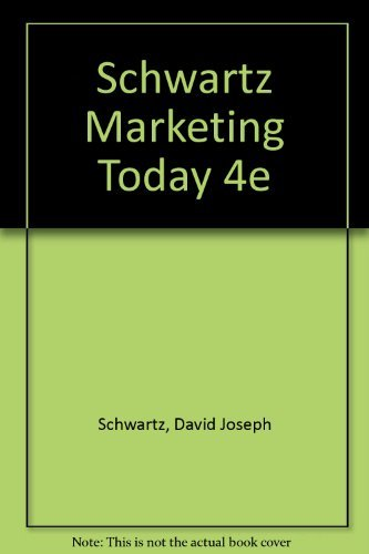 9780155550933: Marketing Today