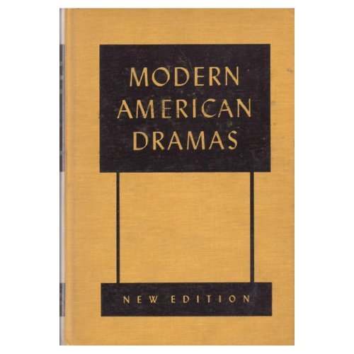 Modern American Dramas.: Hatcher, Harlan Henthorne,