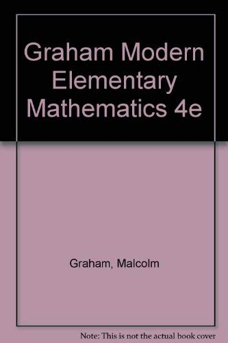 Modern Elementary Mathematics: Malcolm Graham