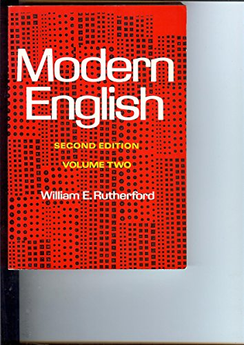 9780155610620: Modern English: v. 2: A Textbook for Foreign Students