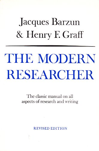 9780155625105: The Modern Researcher