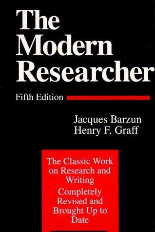 9780155625129: Modern Researcher