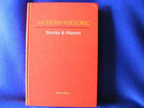 Modern Rhetoric: Cleanth Brooks; Robert