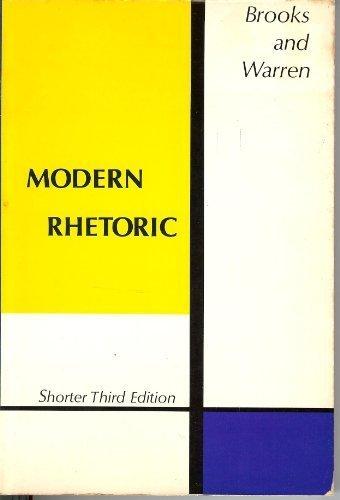 Modern Rhetoric: Brooks, Cleanth