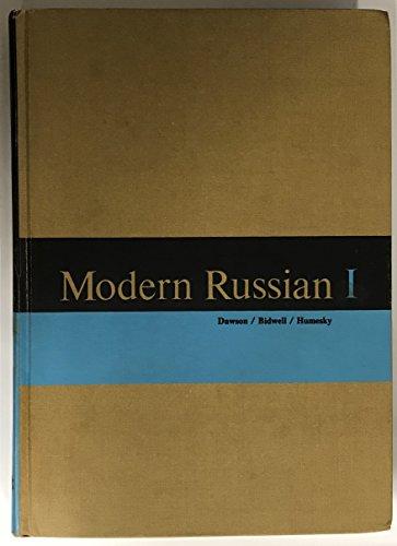 9780155628601: Modern Russian I